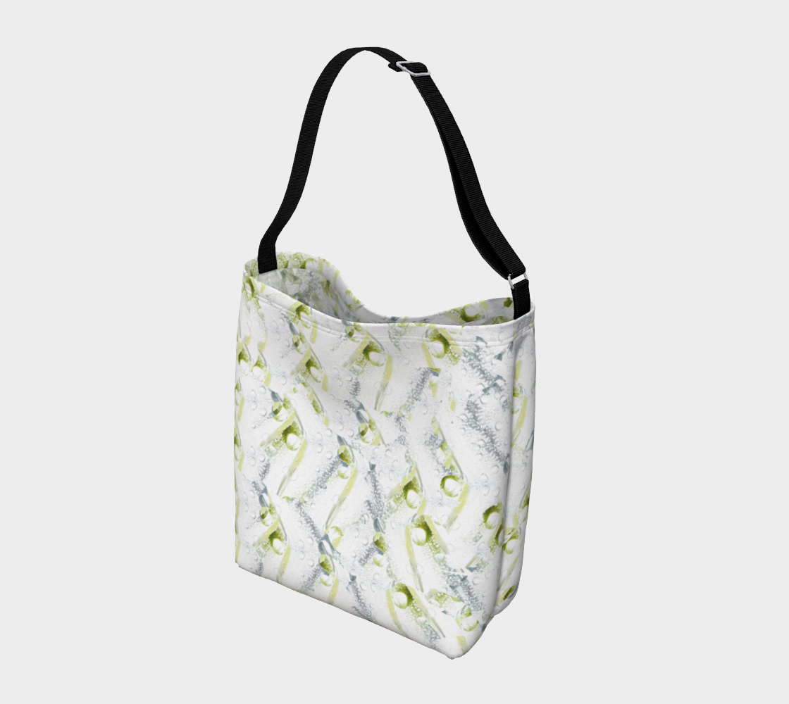 Spring Showers Day Tote by Laura Davis Art Studio preview #2