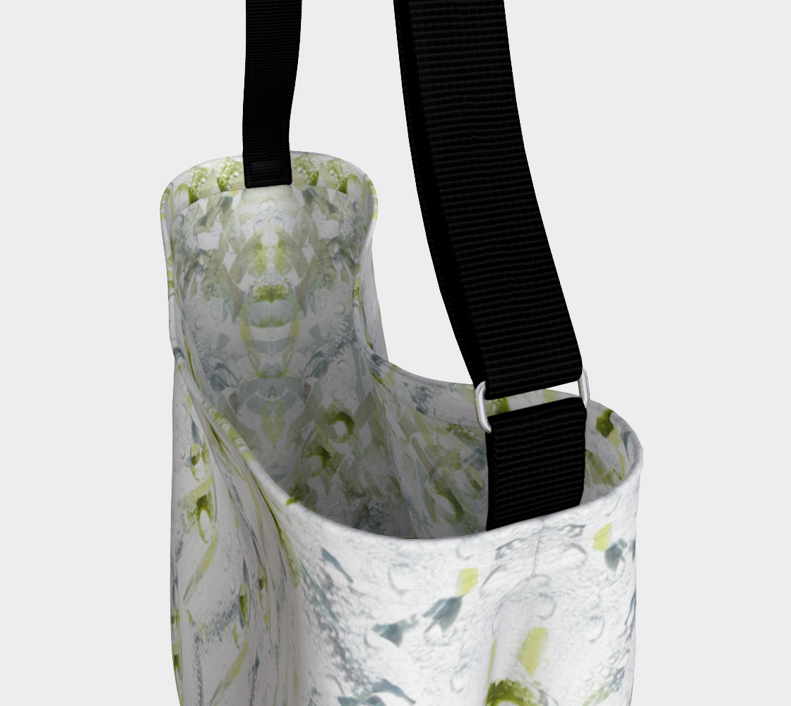 Spring Showers Day Tote by Laura Davis Art Studio preview #3