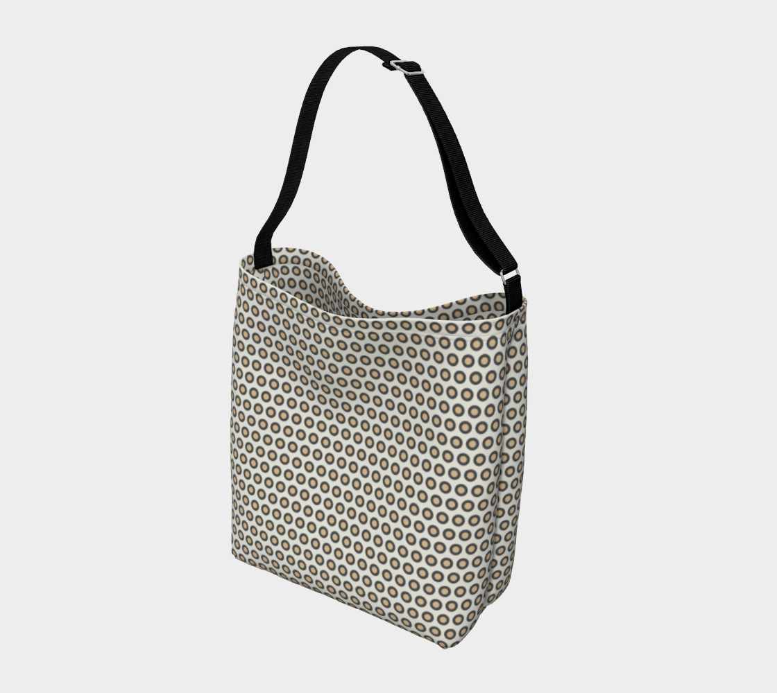 Gray Circle Day Tote preview #2
