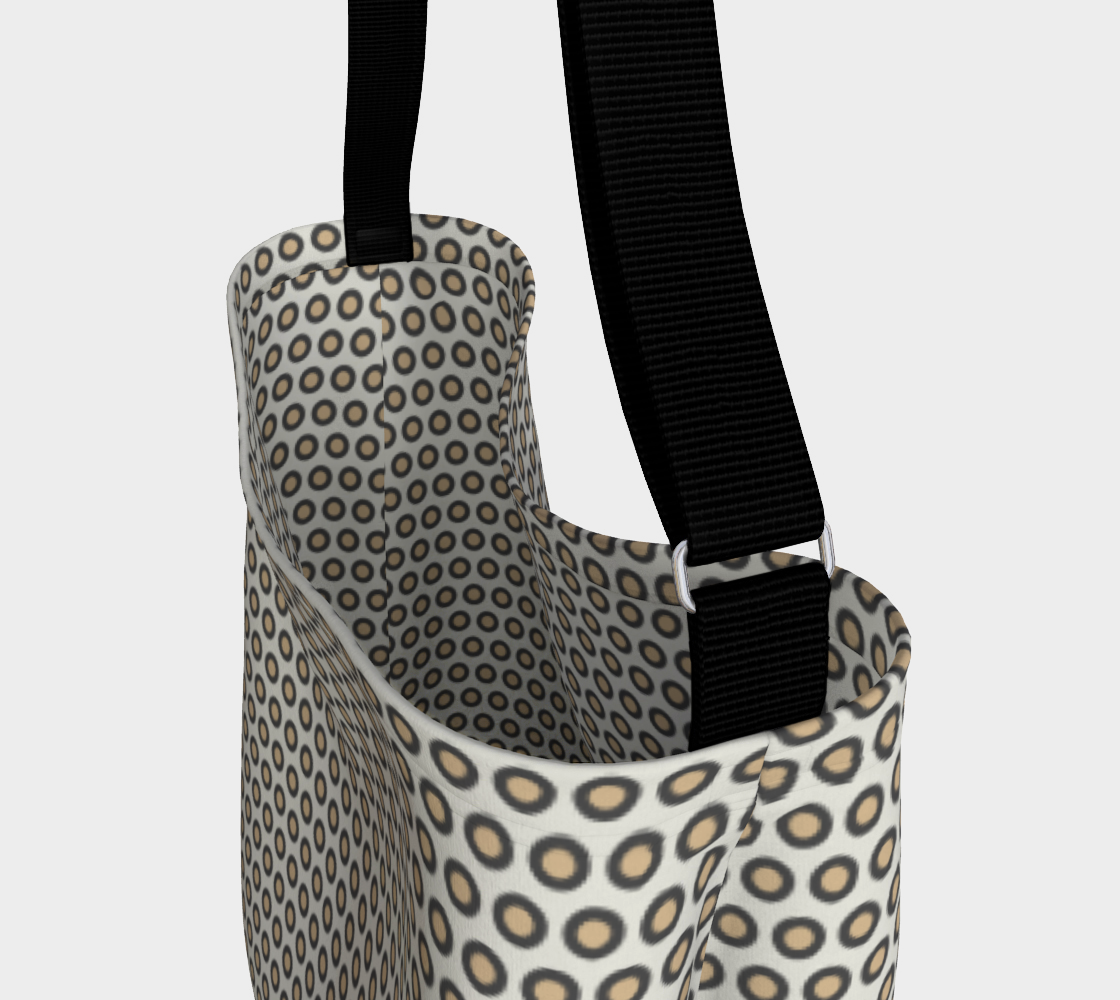 Gray Circle Day Tote preview #3