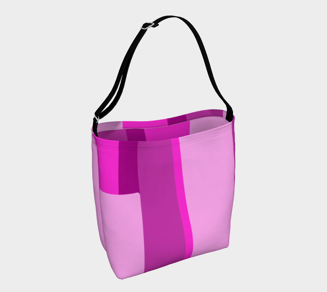 Pink Abstract Day Tote preview
