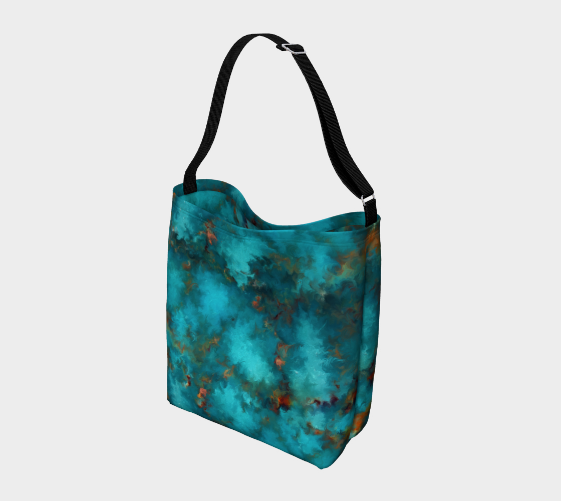 Royston Blue Copper Day Tote preview #2