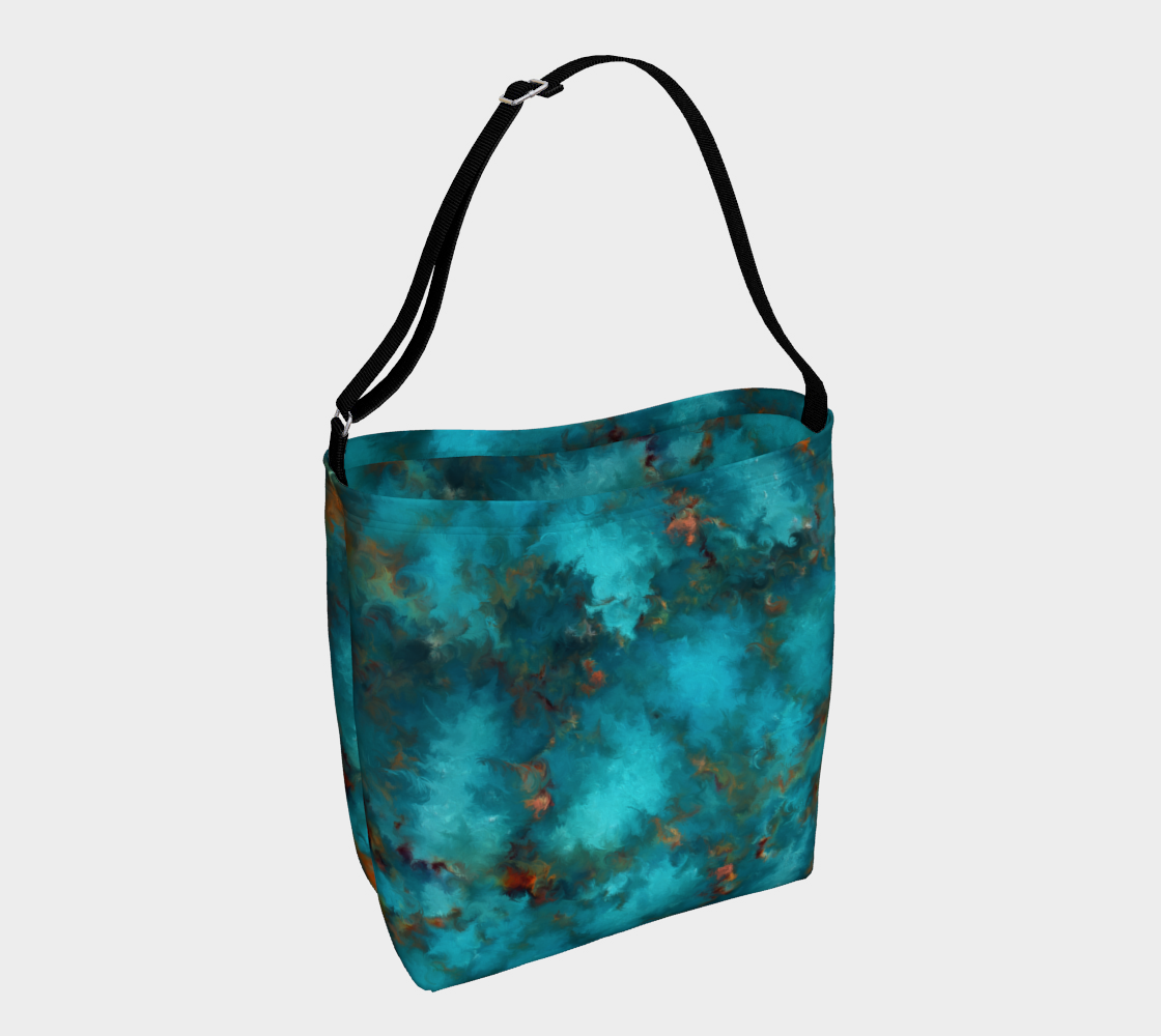Royston Blue Copper Day Tote preview #1