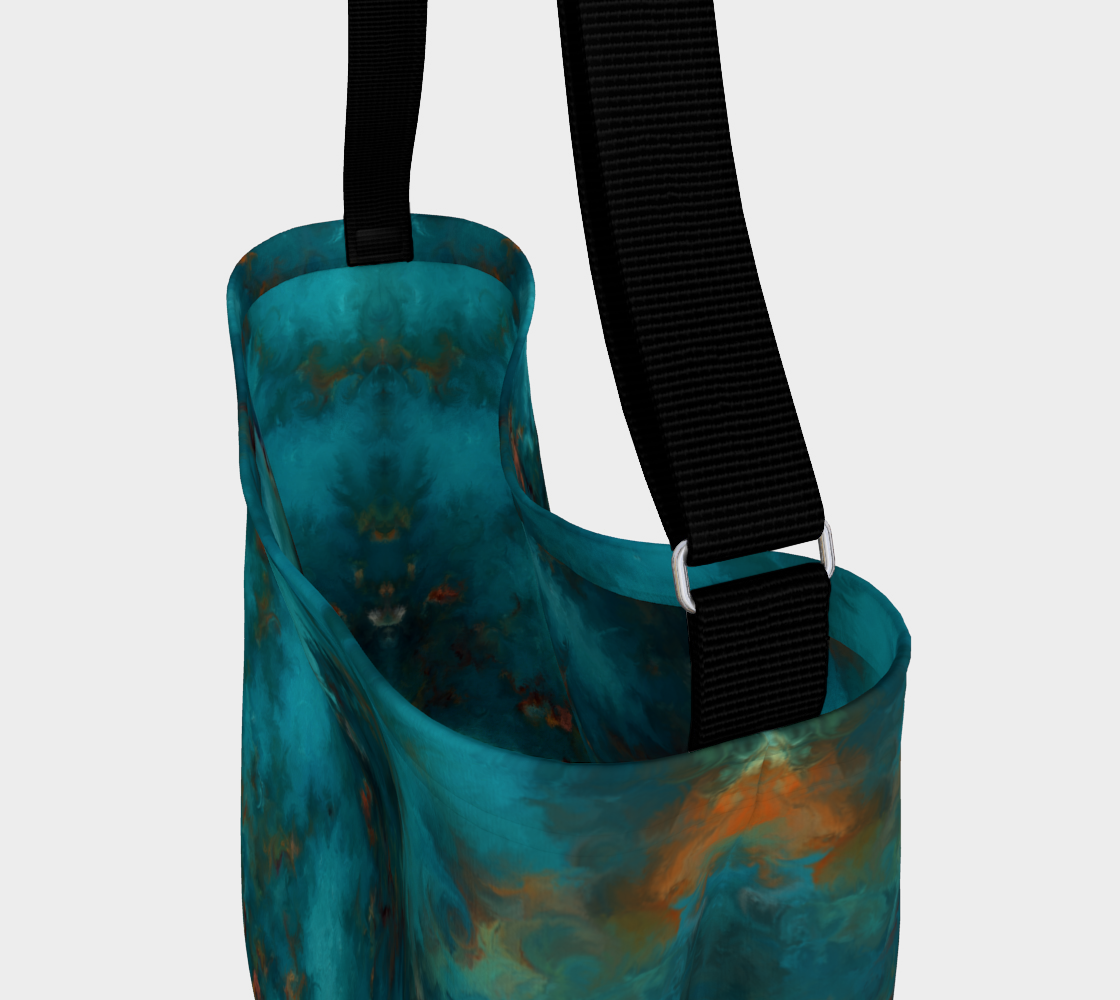 Royston Blue Copper Day Tote preview #3