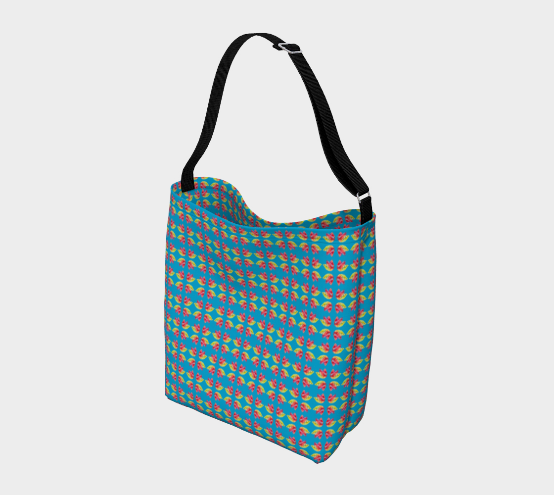 Tulips on Blue Day Tote preview #2