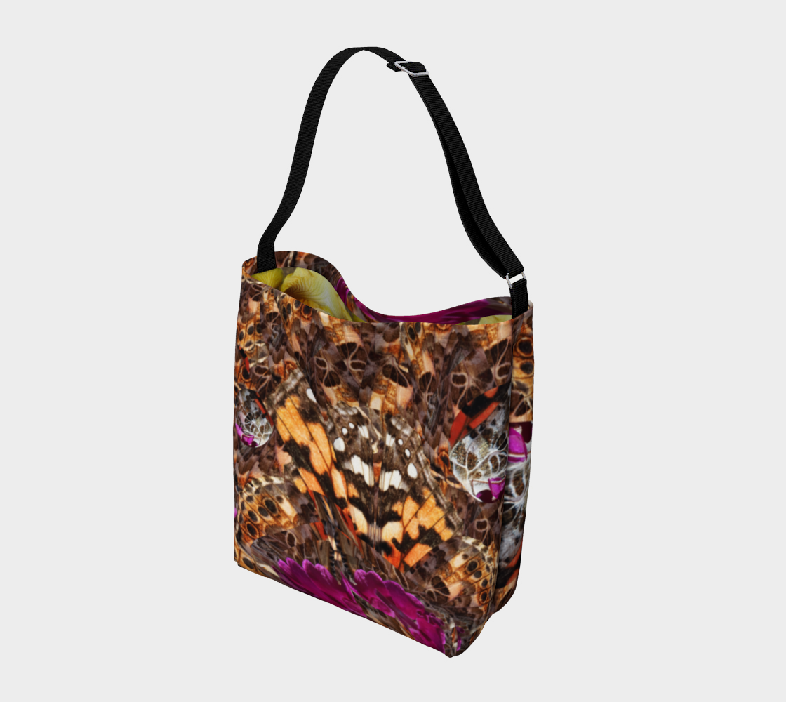 Galaxy Day Tote 2 with Yellow Iris Interior thumbnail #3