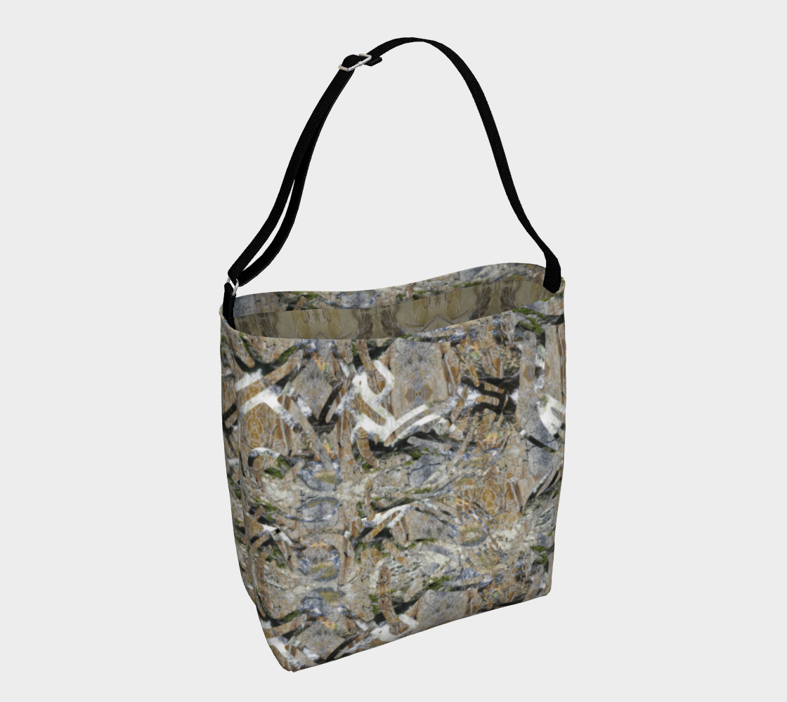 Natural Paths Day Tote with Fossil Interior preview