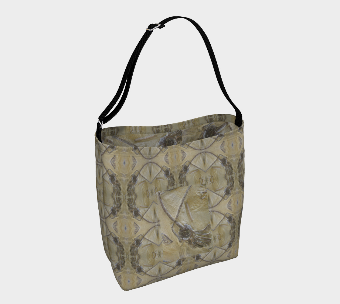 Fossil Mandala 1 Day Tote with Crinoid Interior preview #1
