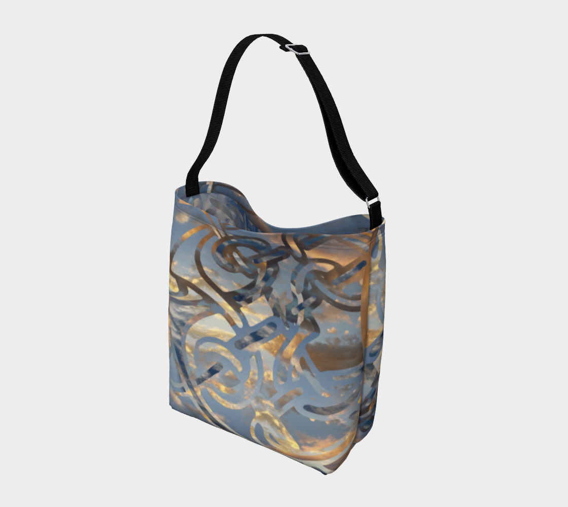 Swirling Celtic Sunset Day Tote  preview #2