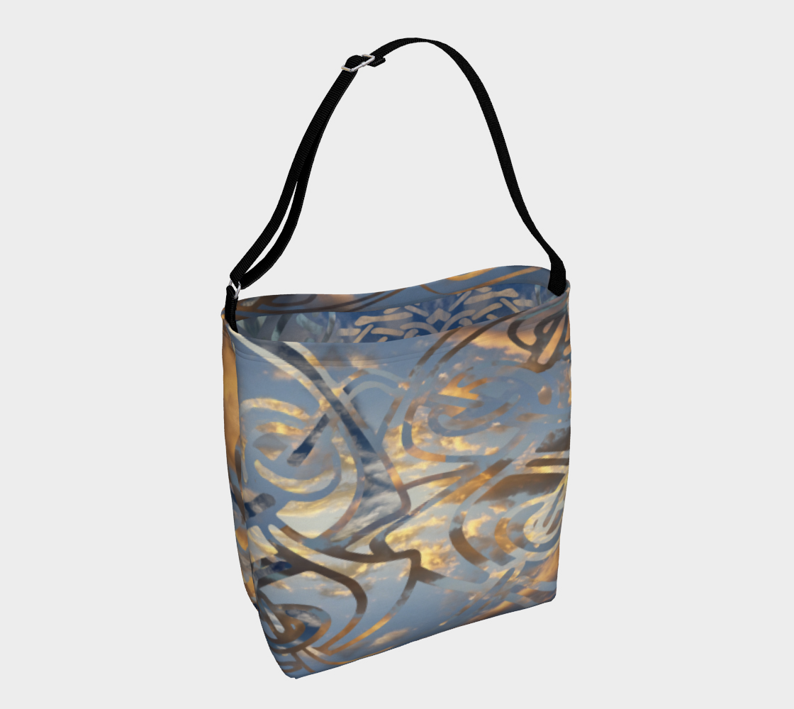 Swirling Celtic Sunset Day Tote  preview