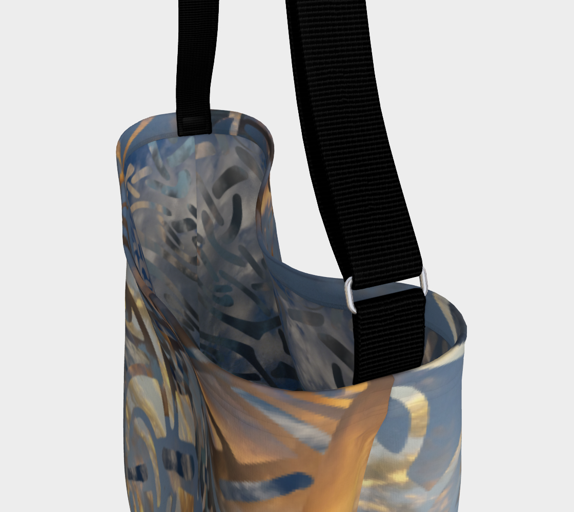 Swirling Celtic Sunset Day Tote  preview #3