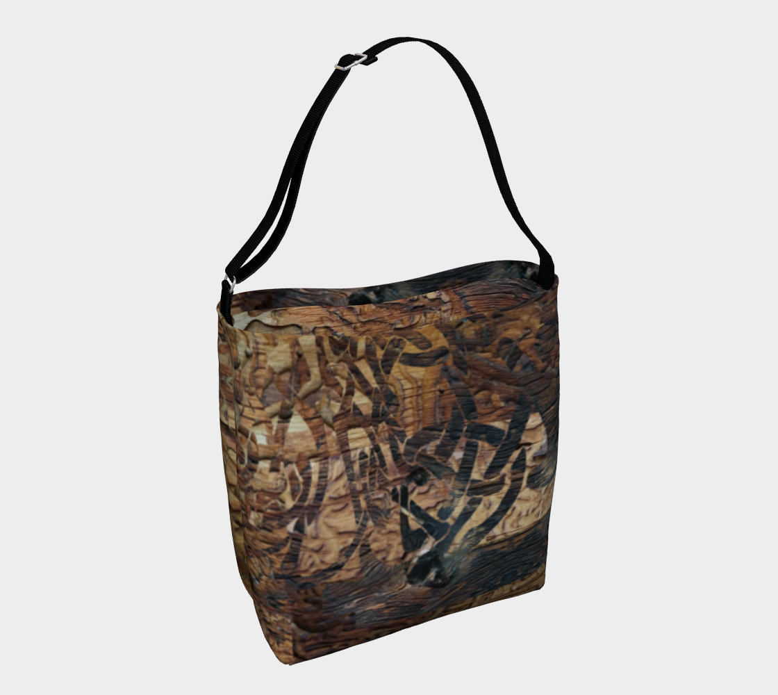 Wood Knots Day Tote preview #1