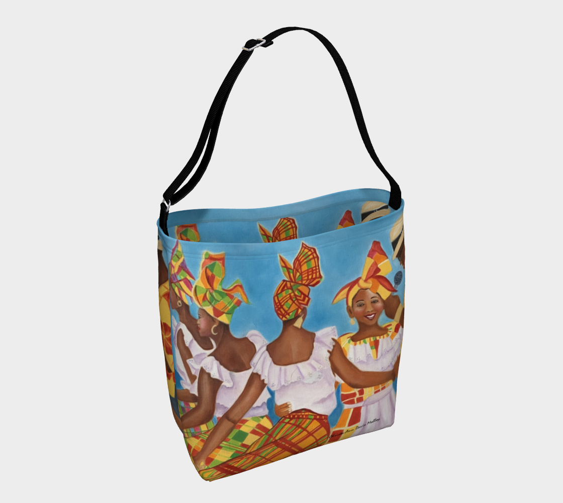 Quadrille Girls with the Caller Day Tote aperçu