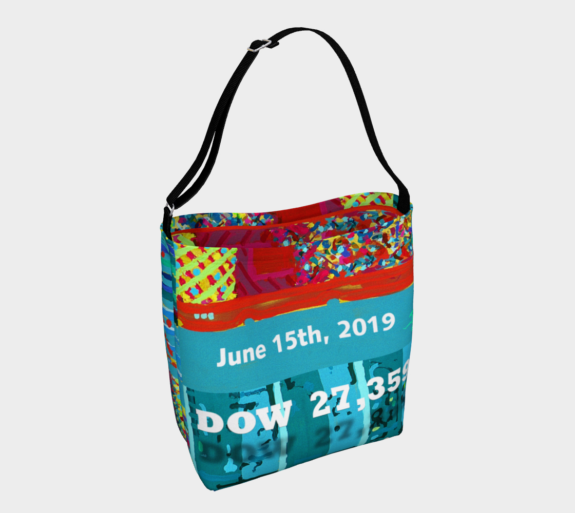 Dow 27,357 Trading Day Record Corporate Lite Tote preview