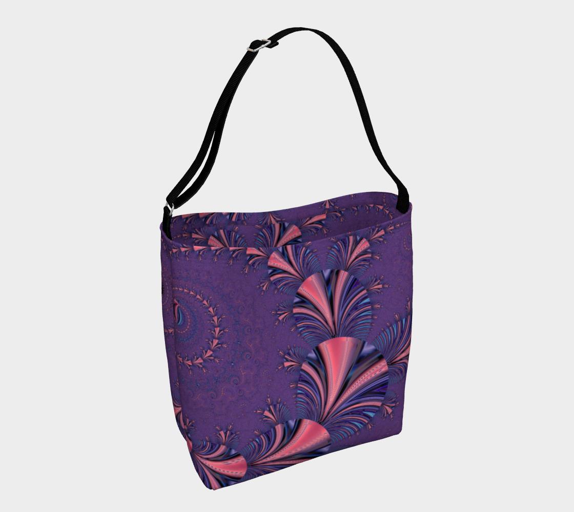Purple Floral Flourish Stylish Design preview