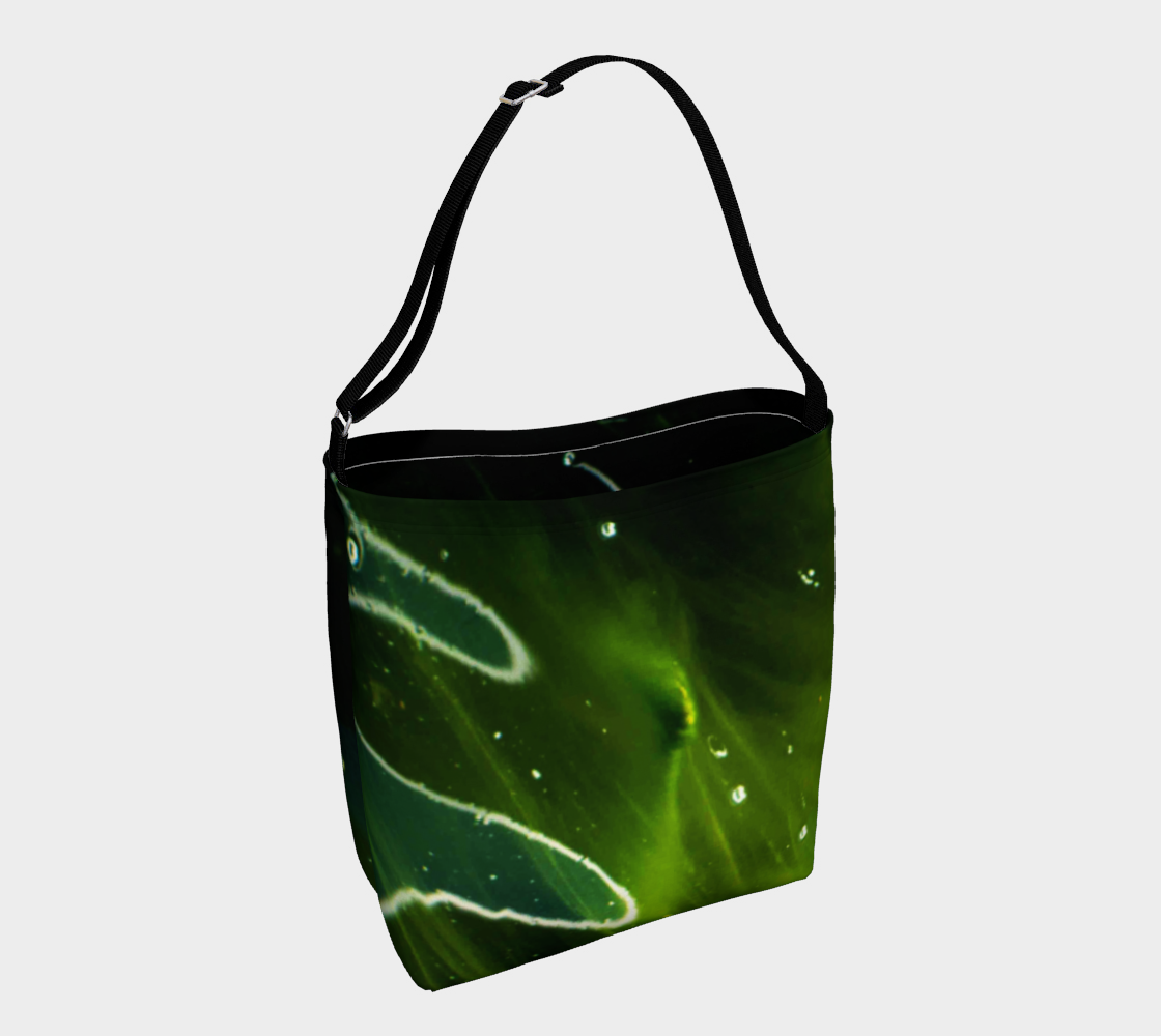 Green Algae and Water Day Tote preview