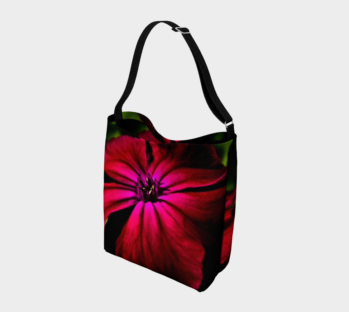 Purple Wild Flower Day Tote preview #2