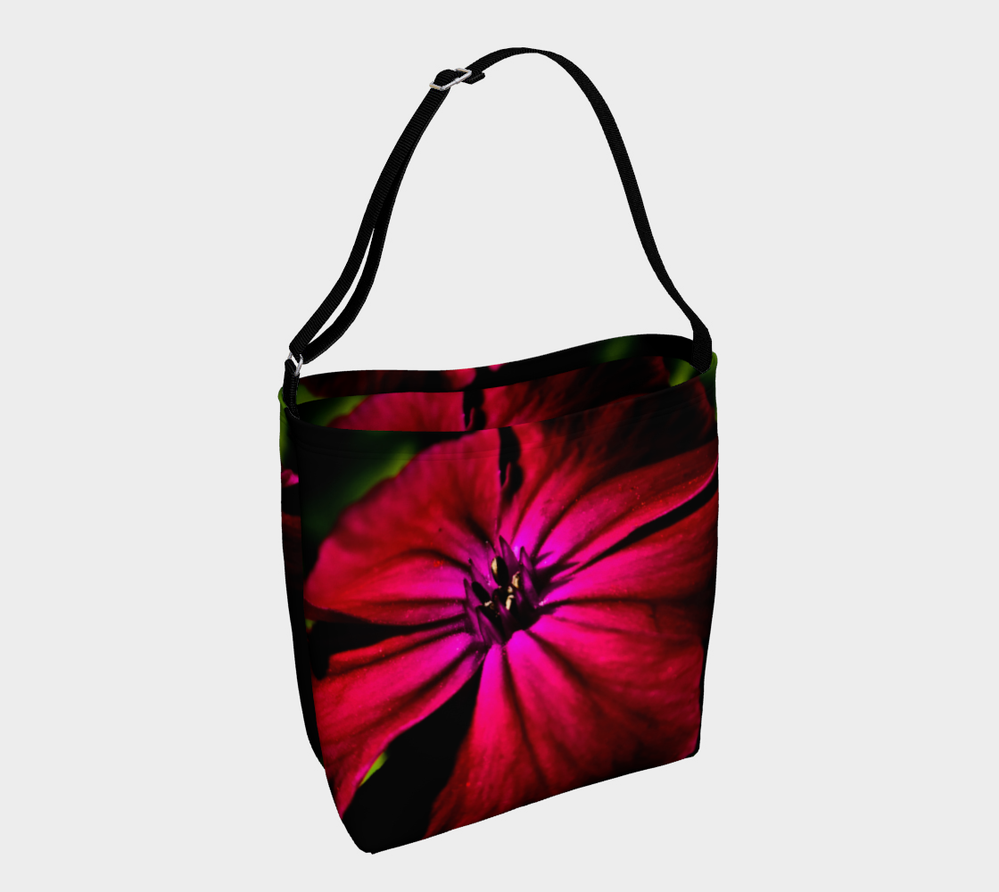 Purple Wild Flower Day Tote preview