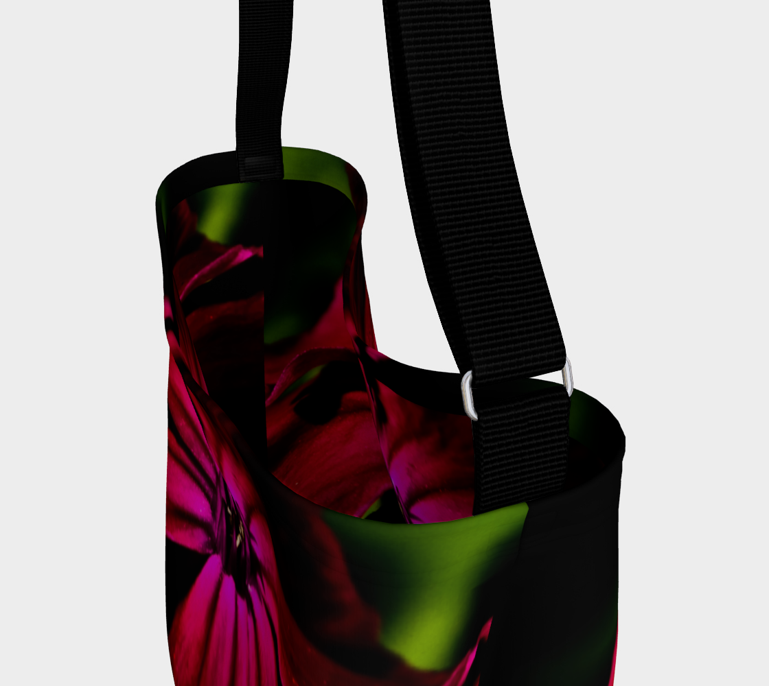 Purple Wild Flower Day Tote preview #3