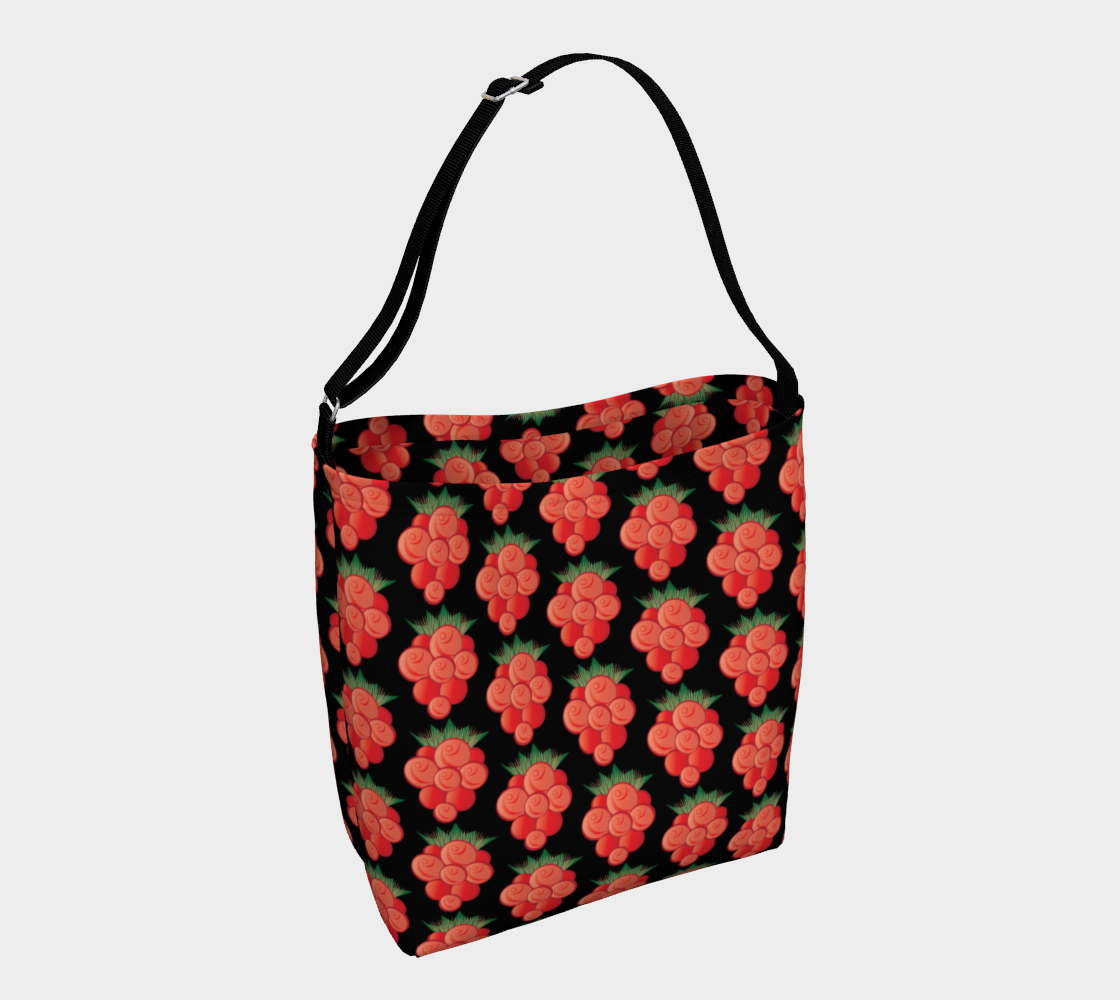 Salmonberry Day Tote Black preview