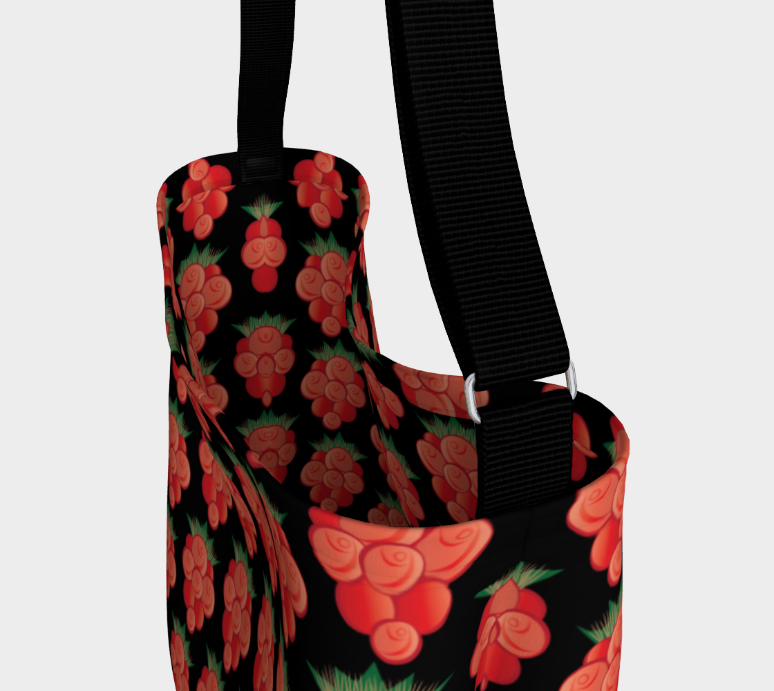 Salmonberry Day Tote Black preview #3