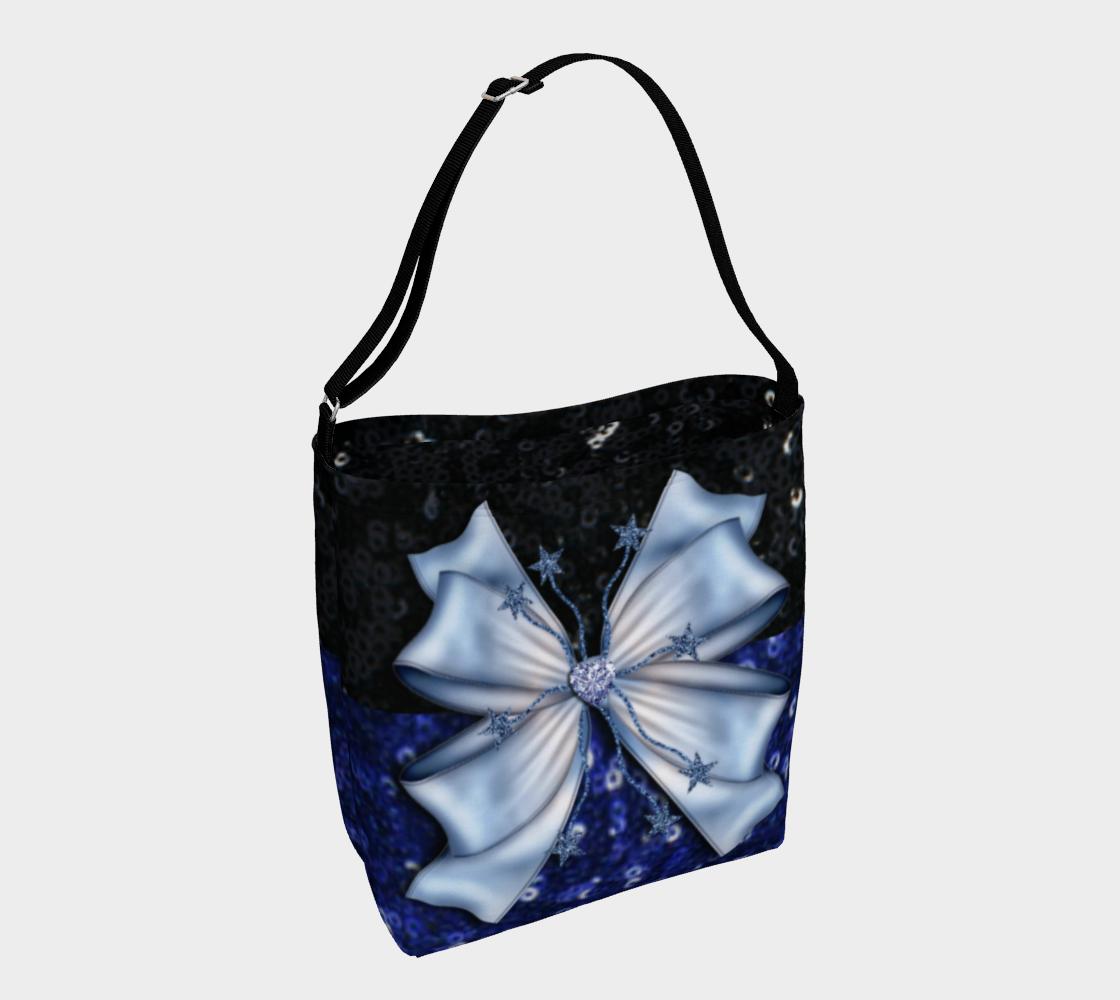 Aperçu de Black and Blue Glitters
