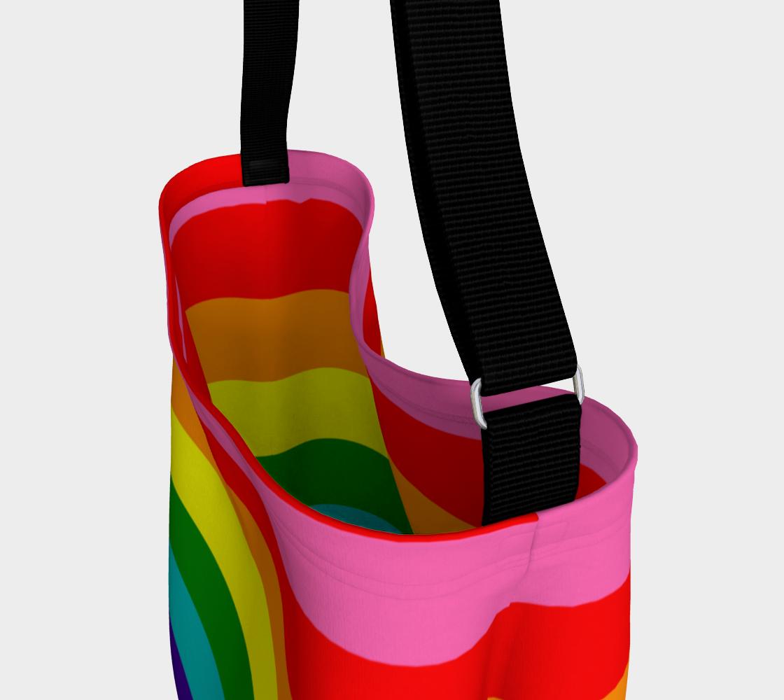 Aperçu de Colorful Rainbow Striped Pattern #3