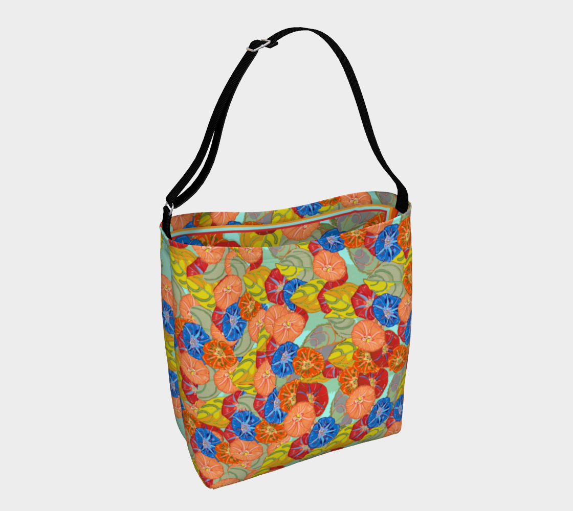 Hot Floral Day Tote preview