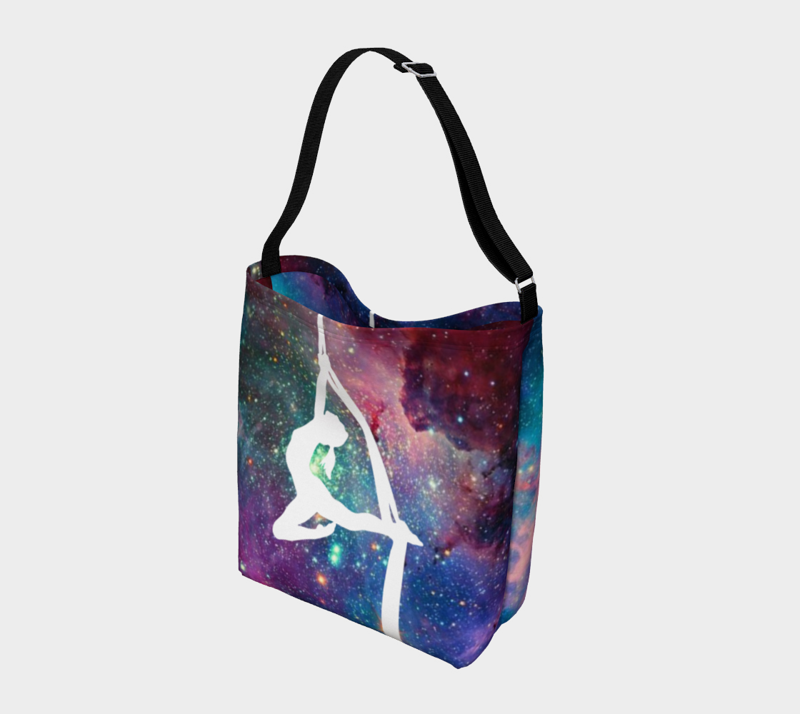 Aerial Galaxy -  Silks 1 - Day Tote Bag preview #2