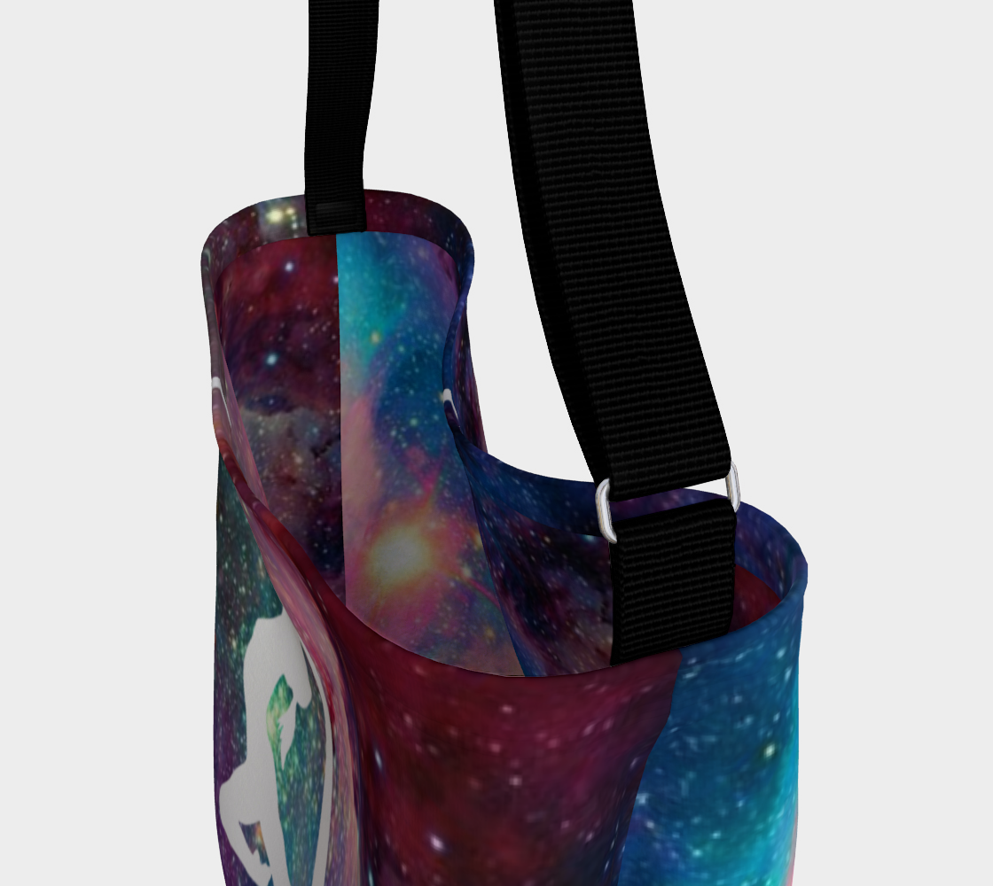 Aerial Galaxy -  Silks 1 - Day Tote Bag preview #3
