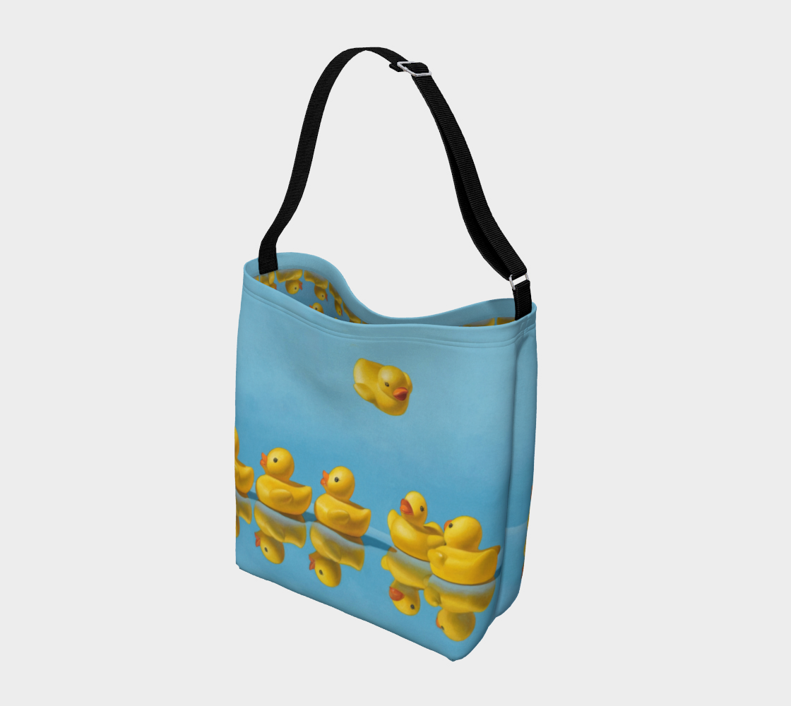 Ducks in a Row Day Tote preview #2