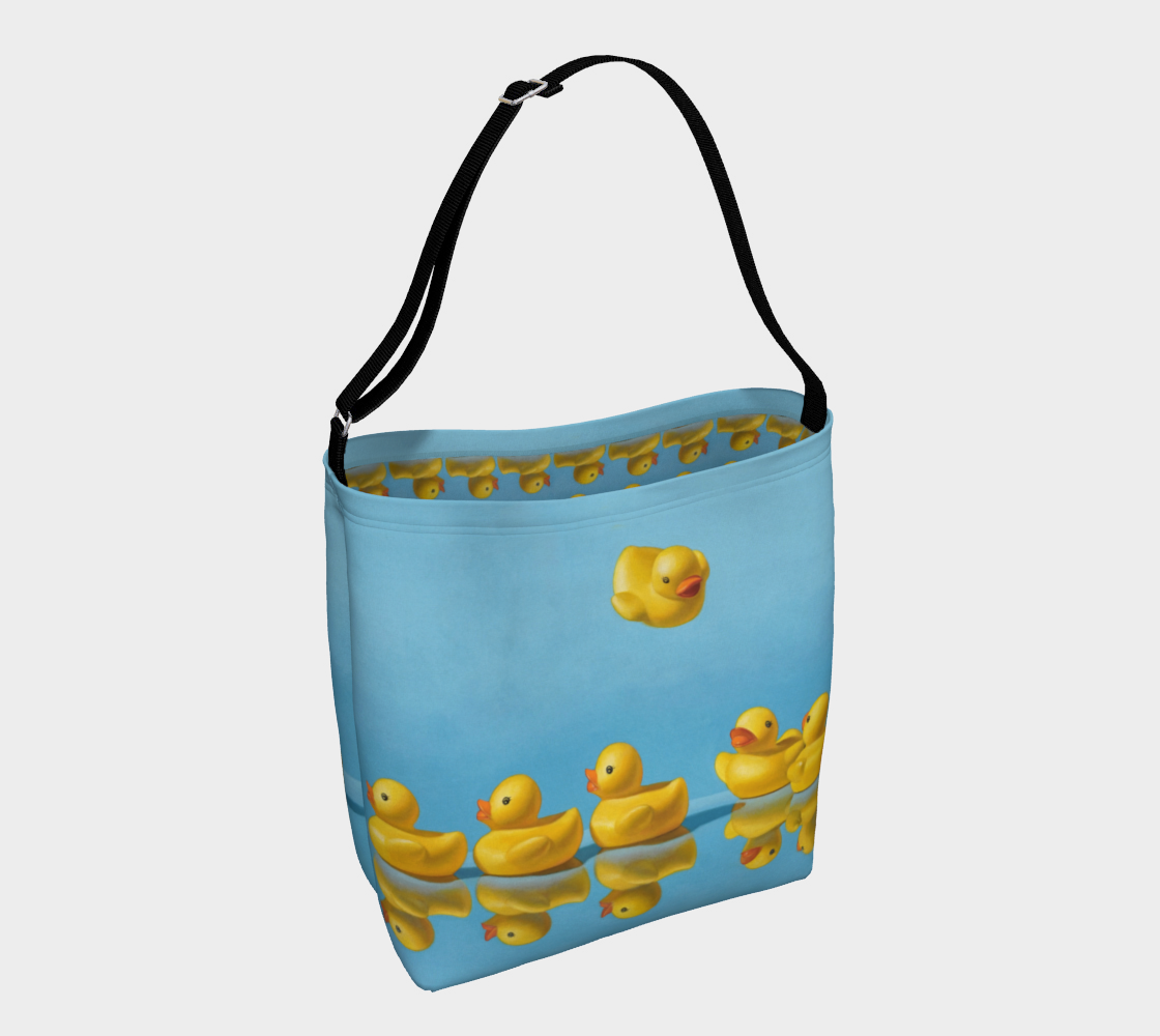 Ducks in a Row Day Tote preview