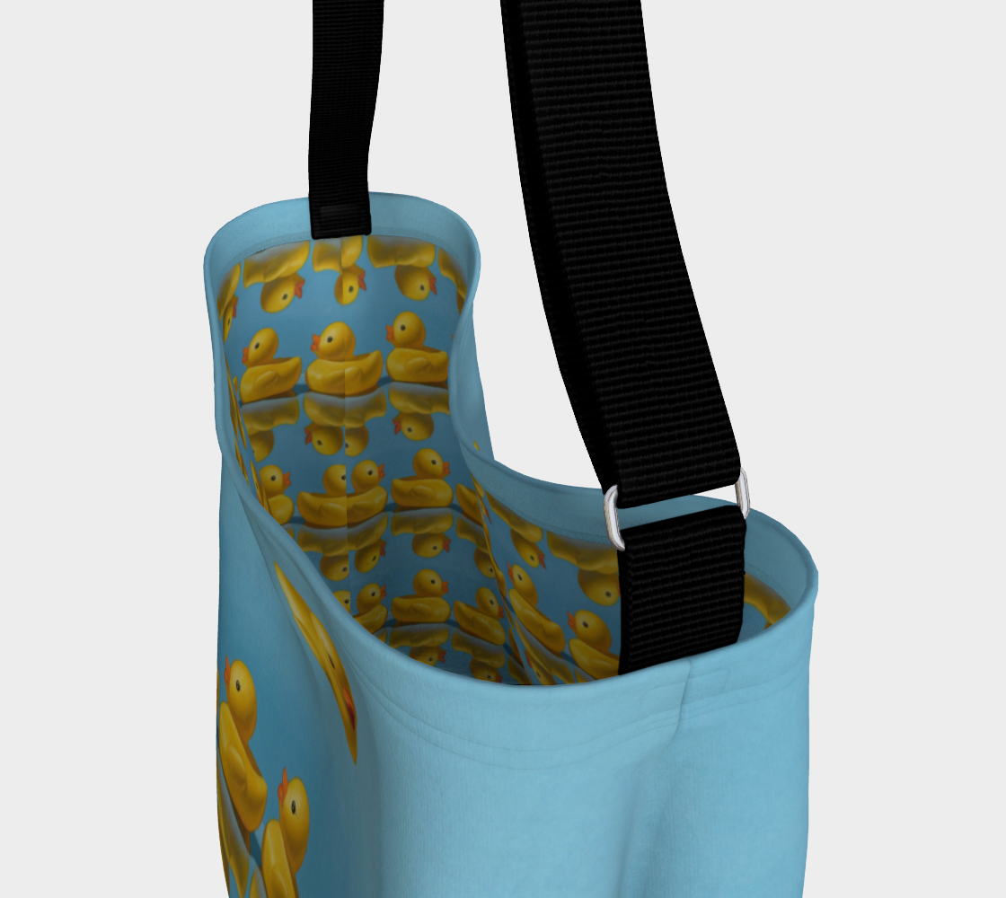 Ducks in a Row Day Tote preview #3