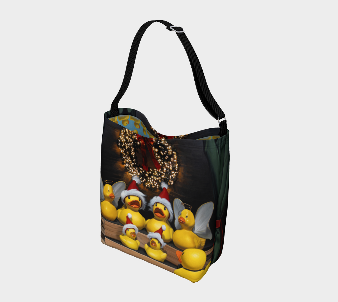 Duck the Halls Day Tote preview #2