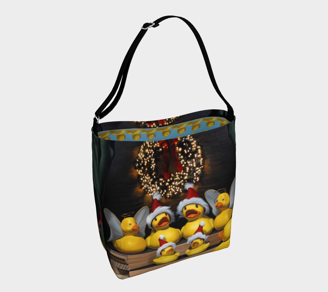 Duck the Halls Day Tote preview