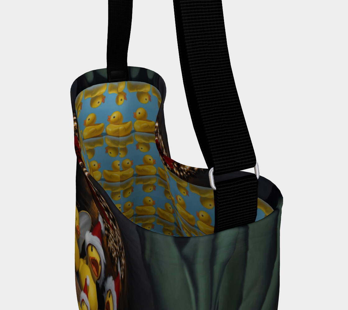Duck the Halls Day Tote preview #3