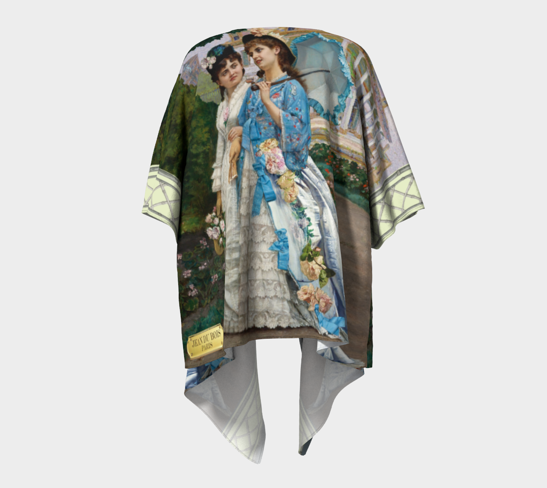 Creole New Orleans Kimono preview #4