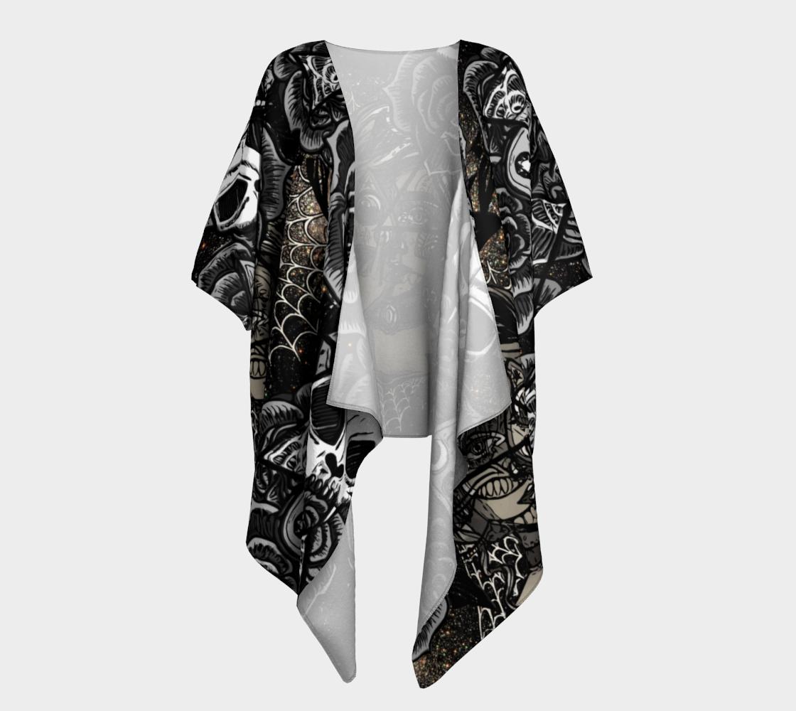 Aperçu de Occult Symbols - sparkle kimono