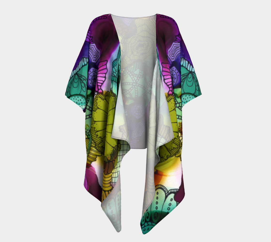 Aperçu de Art C 1 Draped Kimono