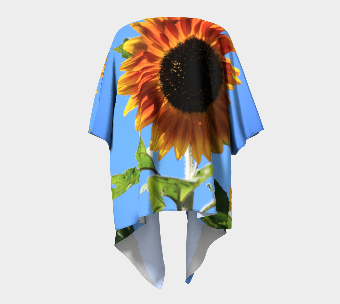 Vibrant Sunflower with Blue Sky  preview #4