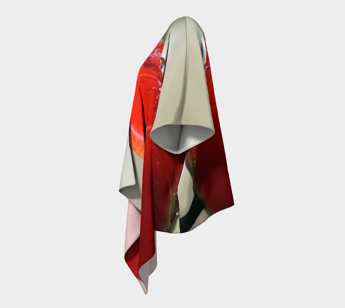 Red Tulip with Droplets  preview #2