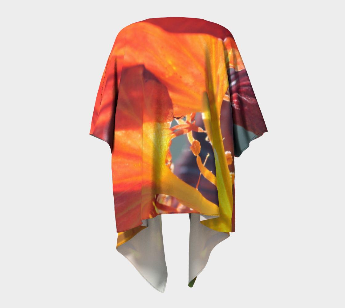 Aperçu de Side Orange Nasturtium #4