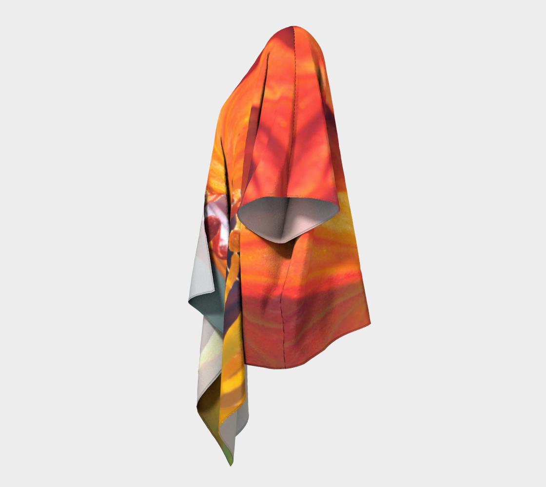 Aperçu de Side Orange Nasturtium #2