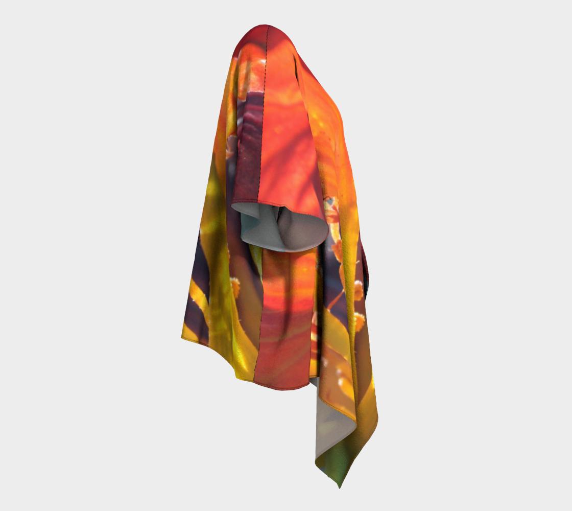 Aperçu de Side Orange Nasturtium #3