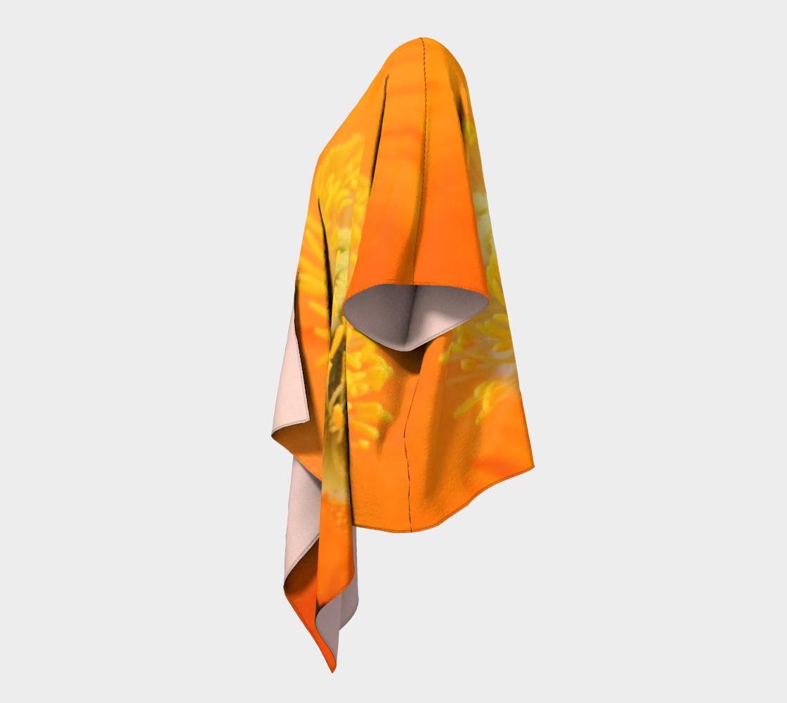 Vibrant Inner Orange Poppy  preview #2