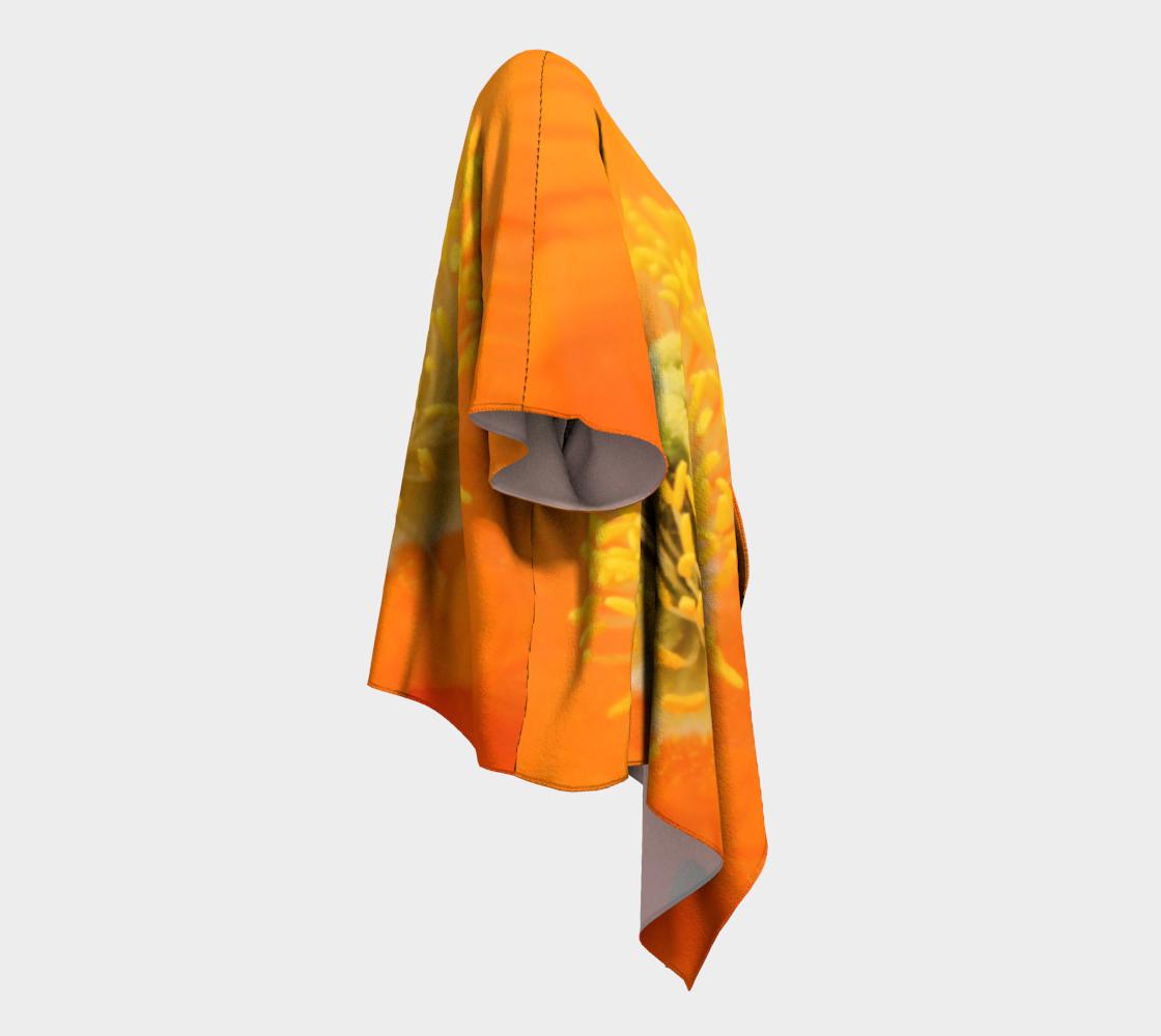 Vibrant Inner Orange Poppy  preview #3