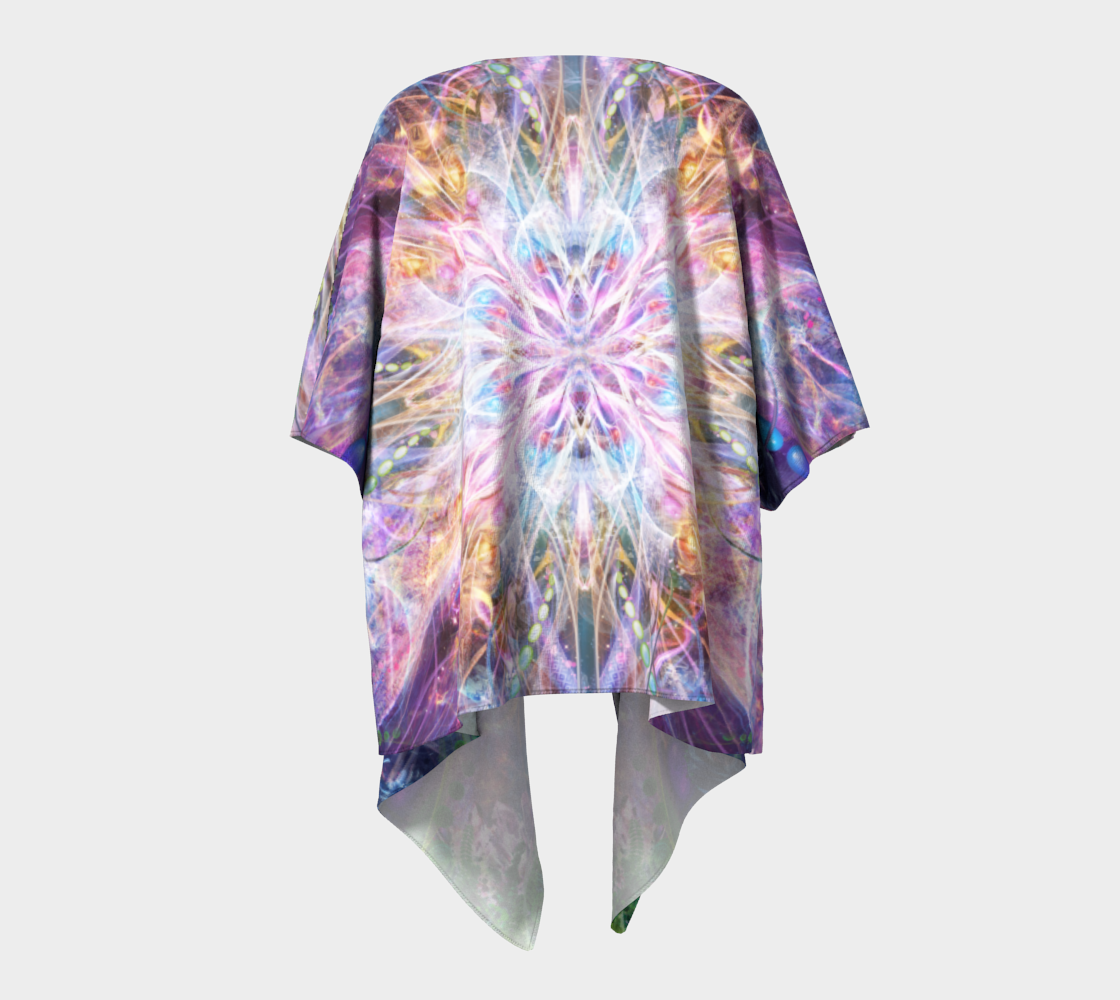 Nostalgia Draped Kimono preview #4