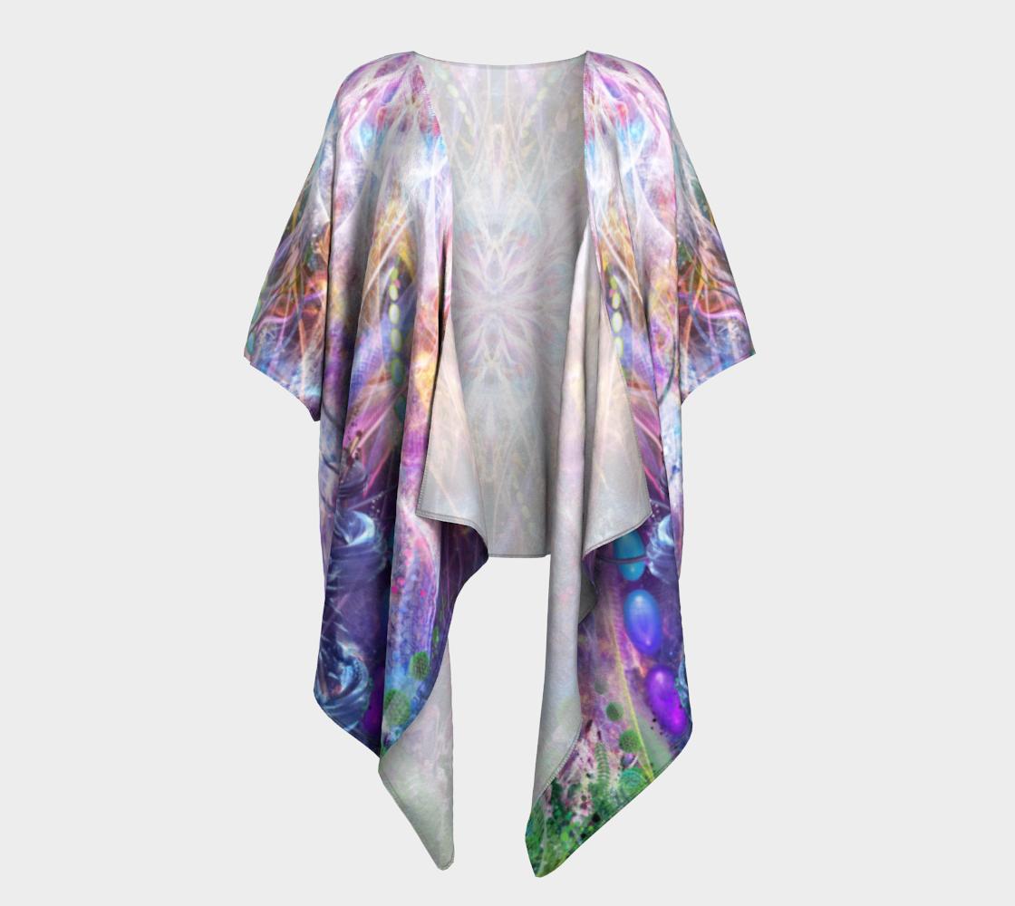 Nostalgia Draped Kimono preview