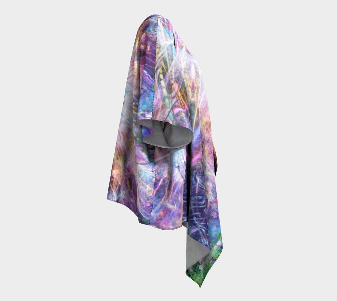 Nostalgia Draped Kimono preview #3