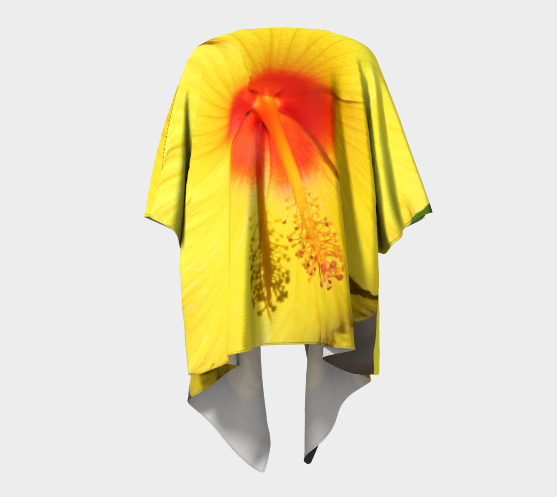 Yellow & Red Hibiscus  preview #4